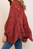 Entro Scalloped Sweater