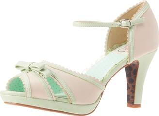 """Bettie Page Women's Sue 4"""" Heeled Sandal"""
