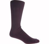 Johnston & Murphy Men's Pima Cotton Dress Socks Cotton Ribbed Slack LG (6)
