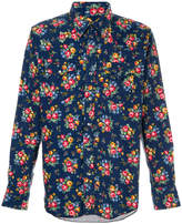 Engineered Garments floral western shirt