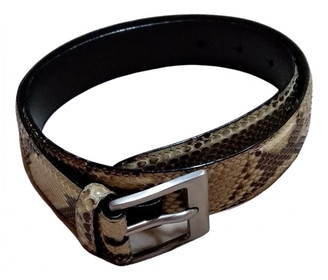 Aigner Other Python Belts