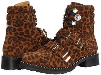 Sophia Webster Ziggy Biker Boot (Leopard) Women's Shoes