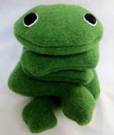 cdbdi Handmade, Personalised Bean Bag Frog For Christmas