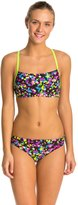 Speedo Flipturns Spectacular Splatter Two Piece Swimsuit 8133084