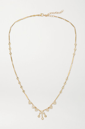 Jacquie Aiche Shaker 14-karat Gold Diamond Necklace - one size