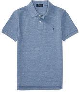 Ralph Lauren Custom-Fit Cotton Mesh Polo