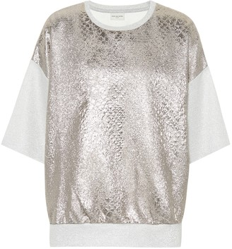 Dries Van Noten Metallic T-shirt