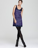 French Connection Dress - Rainbow Sequin