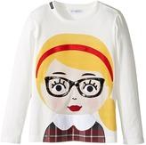 Dolce & Gabbana Back to School Bimba Bionda Long Sleeve T-Shirt (Toddler/Little Kids)