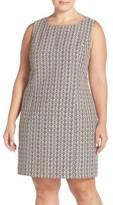 Tart Plus Size Women's 'Dinah' Print Sleeveless Sheath Dress