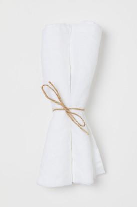 H&M 2-pack Linen Napkins