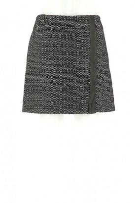 Claudie Pierlot Black Wool Skirt for Women