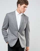 Reiss Flannel Blazer In Modern Slim Fit