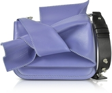 N°21 Small Liliac Leather Bow Shoulder Bag w/Black Leather Shoulder Strap