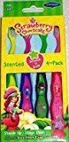 Dr Fresh Strawberry Shortcake Suction Cup Toothbrush - 4 count