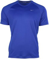Nike Men's Dri-Fit Miler UV Short Sleeve Running Shirt 717405 408 (xl)