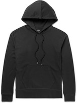 A.P.C. Brody Cotton-jersey Hoodie - Black