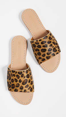 Mystique Leopard Slide Sandals