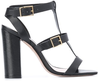Schutz Strappy High Heel Sandals