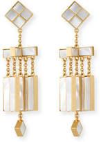 Tory Burch Epoxy Mobile Chandelier Earrings