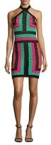 Balmain Multicolored Crochet Dress