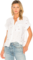 Rails Whitney Button Up in White. - size L (also in M,S,XS)