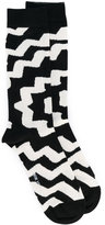 Henrik Vibskov patterned ankle socks - unisex - Cotton/Nylon/Spandex/Elastane - One Size