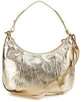 Elliott Lucca Intreccio Metallic Hobo Bag