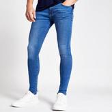 River Island Blue Ollie spray on skinny jeans