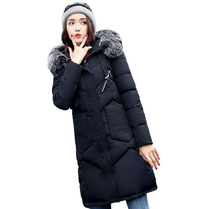 d29a2843985 Black Padded Winter Coat - ShopStyle Canada