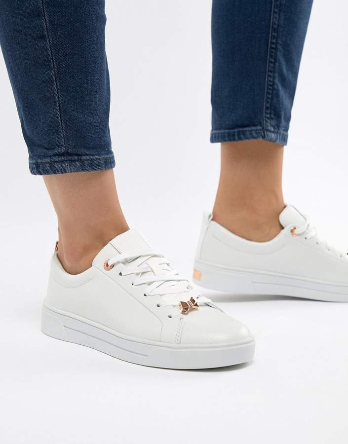 e3adcebc Ted Baker White Women's Sneakers - ShopStyle