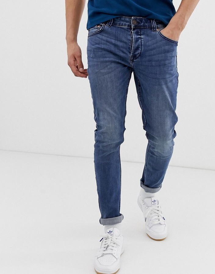 ONLY & SONS slim fit jeans in blue