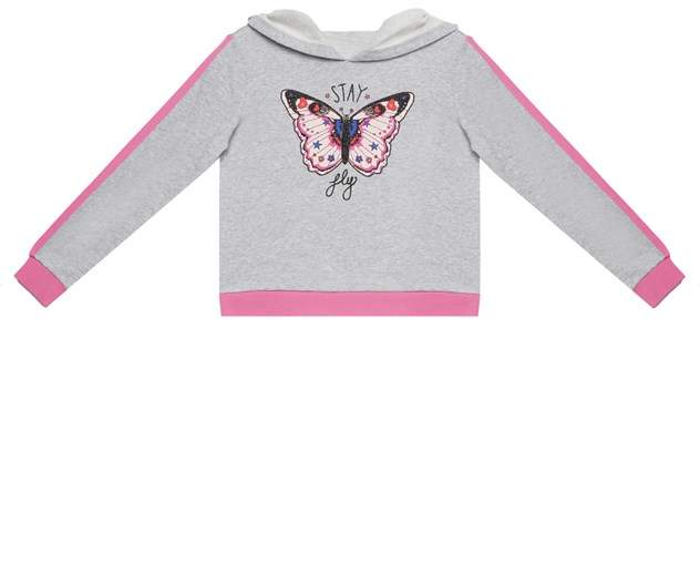 Juicy Couture I Stay Fly Graphic French Terry Pullover for Girls