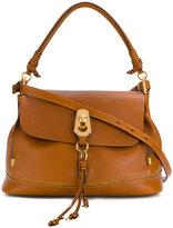 Chloé large Owen satchel - women - Leather - One Size