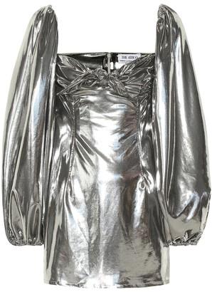 ATTICO Metallic minidress