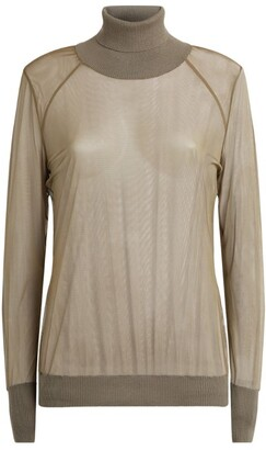 Wolford Tony Tulle Rollneck Sweater