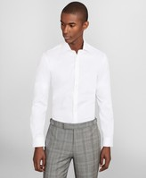Brooks Brothers Soho Extra-Slim Fit Dress Shirt, Performance Non-Iron with COOLMAX, English Spread Collar Twill