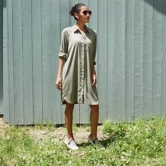Universal Thread Woen's Long Sleeve Button-Down Shirtdress - Universal ThreadTM