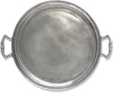 Match Round Tray with Handles