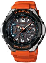 G-shock Gw-3000m-4aer Unisex Orange Strap Watch