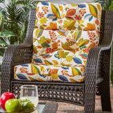 Esprit 44x22-inch 3-section Outdoor High Back Chair Cushion