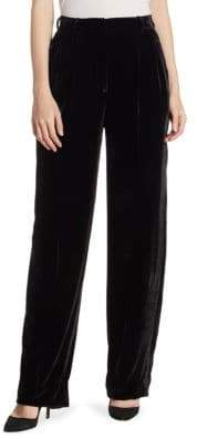 Theory High-Rise Velvet Pants