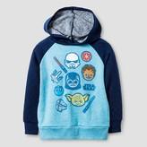 Star Wars Toddler Boy's Pullover Hoodie - Light Heather Blue