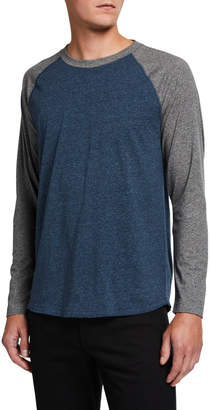 Vince Men's Raglan-Sleeve Baseball T-Shirt