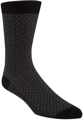 Cole Haan Men Textured Crew Socks