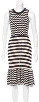 Kate Spade Knit Ruffled Dress