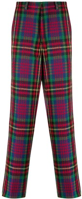 AMI Paris Checked Wide Fit Chinos