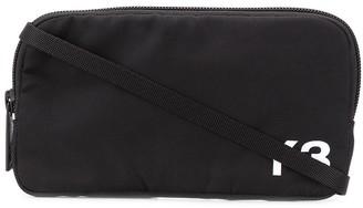 Y-3 Logo Print Messenger Bag