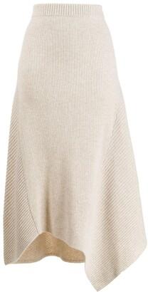 Pringle Knitted Asymmetric Skirt