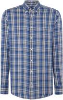 Gant Men's Bright Plaid Long-Sleeve Cotton Shirt